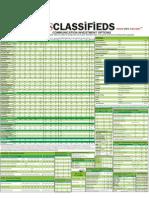 Classified Ratecard2011 TOI