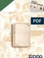 1996-1997 Zippo Official License Catalog (GE-FR)