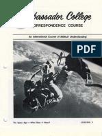 AC Corr Course Lesson 01 (Prelim 1972)