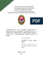Proyecto UNIDAD de CAPACITACION. Pasos a Seguri