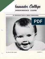 AC Corr Course Lesson 08 (Prelim 1972)