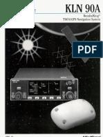 King KLN-90A Pilots Manual