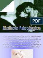 8) Maltrato Psicológico