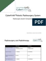 Cyberknife Robotic Radiosurgery Comparisons