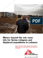 Misery Beyond the War Zone