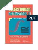 AU Ejercicios Resueltos de Mat II Andalucia Vol.1