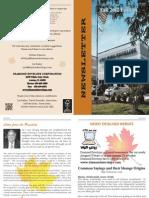 Diamond Envelope - Newsletter Fall 2012