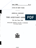 New York Guard Report (1939-45)