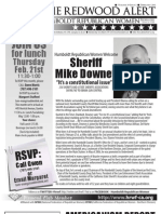 HRWF FEB 2013 Redwood Alert