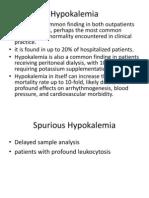 HypoKaleMia