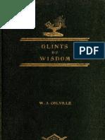 Glints of Wisdom