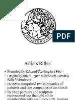 Artists Rifles Presentation