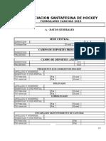 (Pag.5) Formulario Canchas a 2013