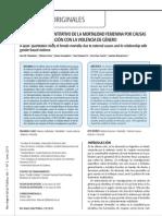 Estudio Cuali-cuantitativo de La Mortalidad Femenina Por Causas