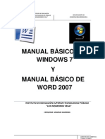 Biblia de Word y Windows 7