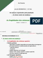 GEOGRAGIA A 11º [FRAGILIDADES SISTEMAS AGRÁRIOS] (RP)
