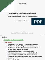 CONTRASTES DESENVOLVIMENTO - 9º ANO [PD vs PED] (RP)