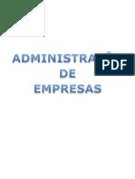 Administraçao de empresas