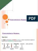 CONCORDÂNCIA NOMINAL (1)