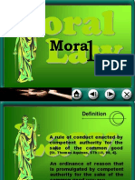 Module III-A Moral Law