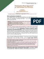 Participatory Rural Appraisal Part 1