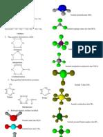 Bentuk Molekul dengan Program Isidraw dan Chemsketch