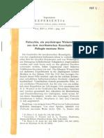 Hofmann Et Al (1958) Psilocybin Ein Psychotroper Wirkstoff Aus Dem Mexikanischen Rauschpilz Psilocybe Mexicana Heim (Separatum EXPERIENTIA Vol XIV-3 p 107)