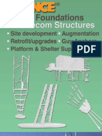 CHANCE Helical Foundations for Telecom Structures