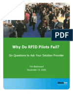 Alliance Tech White Paper - RFID (Radio Frequency Identification) - An Overview and Tips for Successful Event Tracking- Alliance Tech White Paper