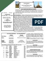 St. Joseph December 30, 2012 Bulletin