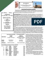 St. Michael's Jan. 13, 2013 Bulletin