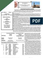 St. Michael's Feb. 10, 2013 Bulletin