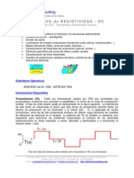 TRX Metodo Resistividad Electrica