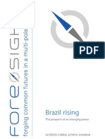 Brazil Rising. the Prospects of an Emerging Power