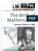 Birth of Mathematics Ancient Times to 1300 - Michael J. Bradley