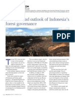 A review and outlook of Indonesia's forest governance