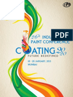 26th Indian PaintConf Advertisement Brochure