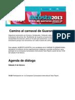 Camino Al Carnaval de Guaranda
