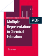 Buku Multiple Representations in Chemical Educ