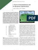 M691 Final Report (2011-2012) - Stochastic Power Grid Model