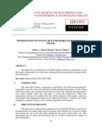 OPTIMIZATION OF IPV6 PACKET'S HEADERS OVER ETHERNET FRAME