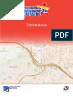 Taller Para La Densificacion Toponimica en Areas Urbanas