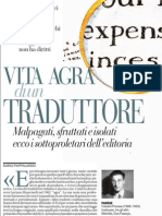 Vita agra di un traduttore. Ecco i sottoproletari dell'editoria - La Repubblica 09.02.2013