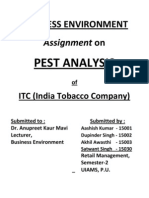 PEST Analysis ITC