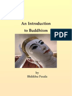 An Introduction to Buddhism - Bhikkhu Pesala