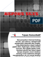 Learn Report Text with Mr. Cepi