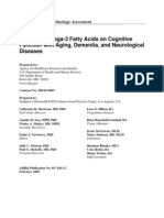 Effects of Omega-3 Fatty Acids on Aging, Dementia and Neurological Diseases
