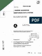 Marine Hazardous Substances Data System_Volume 2