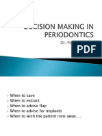 Decision Making in Periodontics