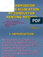 Tranmission loss allocation by conductor renting method.ppt